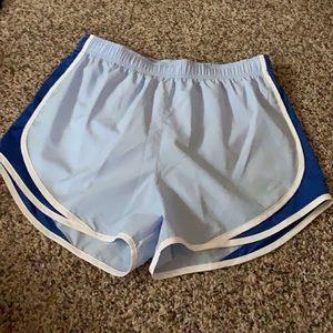 Blue NWT Nike running shorts